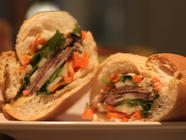 Charcutepalooza Binding and I love Bahn Mi