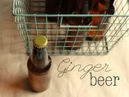 Homemade Ginger Beer found on PunkDomestics.com