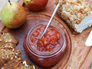 Cranberry Pear Conserve with Ginger