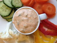Herbs and Spices Veggie Dip