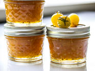 Golden Cherry Tomato and Ginger Jam found on PunkDomestics.com