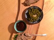 Venison Pate with Highbush Cranberry Ketchup found on PunkDomestics.com