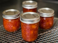 Perfectly Simple Peach Preserves found on PunkDomestics.com