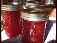Strawberry Peach Lemon Jam found on PunkDomestics.com