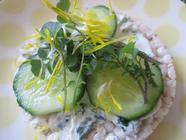 Kefir Cheese with Wild Garlic found on PunkDomestics.com