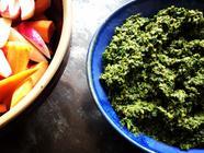 Carrot-Top Pesto found on PunkDomestics.com