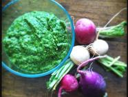 Spring Greens-N-Things Pesto