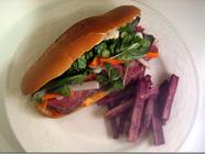 Pho-Spiced Corned Beef Banh Mi