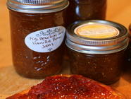 Fig,Bourbon and Vanilla Bean Jam found on PunkDomestics.com