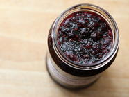 Blackberry & Vanilla Jam found on PunkDomestics.com