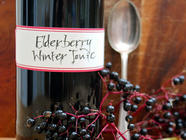 Making Elderberry Winter Tonic