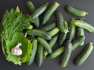 Fermented Half-Sour Pickles found on PunkDomestics.com