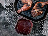 Indian inspired Cherry Barbecue Sauce found on PunkDomestics.com