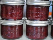 Strawberry Rhubarb Ever After Jam found on PunkDomestics.com