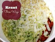 'Kraut, Three Ways found on PunkDomestics.com
