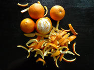 Old School Candied Orange Peels found on PunkDomestics.com