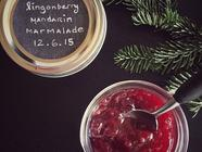 Lingonberry Mandarin Marmalade found on PunkDomestics.com