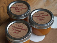 Low-Sugar Peach Jam found on PunkDomestics.com