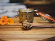 """Homemade """"Pint O' Beer"""" Mustard Recipe found on PunkDomestics.com"""