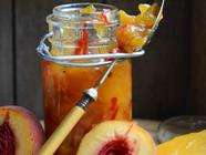 Mango and Peach Chutney found on PunkDomestics.com