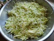 Sauerkraut with Apples, Fennel and Onions found on PunkDomestics.com