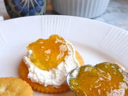Meyer Lemon and Vanilla Jam found on PunkDomestics.com