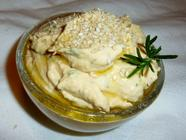 Homemade Herbed Hummus