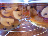 Pickled Crimini Mushrooms found on PunkDomestics.com
