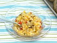 Mexican Corn Relish: Big Batch Bushel Recipe found on PunkDomestics.com