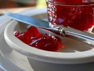 Pomegranate Champagne Jelly