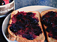 Peach Blueberry and Grand Marnier Jam