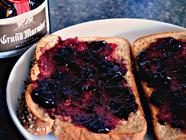 Peach Blueberry and Grand Marnier Jam found on PunkDomestics.com
