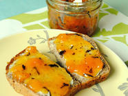Peach Jam with Honey & Earl Grey Tea