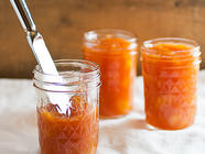 Peach Jam with Lavender found on PunkDomestics.com