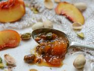 Peach and Pistachio Jam found on PunkDomestics.com