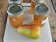 Pear Ginger Jam found on PunkDomestics.com