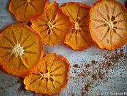 Dehydrated Hachiya Persimmons