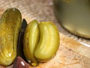 "Fermented ""Crock"" Garlic Dill Pickles found on PunkDomestics.com"
