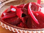 Pickled Roasted Beets and Onions  found on PunkDomestics.com
