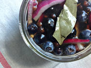 Pickled Blueberries found on PunkDomestics.com