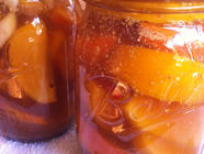 Quick Persimmon Refrigerator Pickles  found on PunkDomestics.com