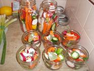 Spicy Pickled Carrots  found on PunkDomestics.com