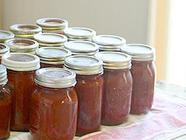 Canning Pizza Sauce and Tomato Sauce - Recipe found on PunkDomestics.com