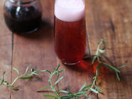 Preserving Mulberries: Infused Simple Syrup found on PunkDomestics.com
