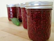 Raspberry Jalapeno Jam found on PunkDomestics.com