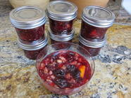 My Mother's Cherry-Raspberry Conserve