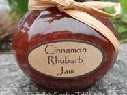 Cinnamon Rhubarb Jam found on PunkDomestics.com