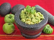 Roasted Green Tomato Avocado Salsa