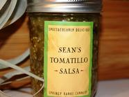 Sean's Tomatillo Salsa found on PunkDomestics.com
