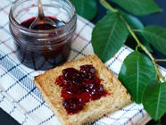 Sour Cherry Jam with Kirsch found on PunkDomestics.com